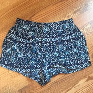 LA Hearts Flowy Printed Shorts